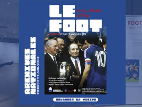Visite virtuelle de l'exposition Le foot