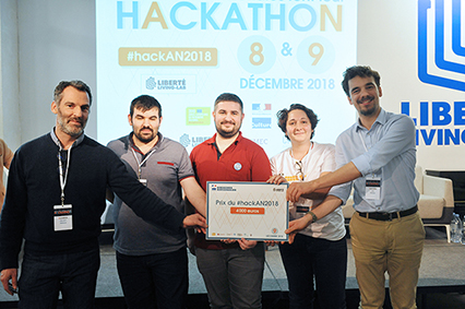 Les lauréats du hackathon 2018 des Archives nationales