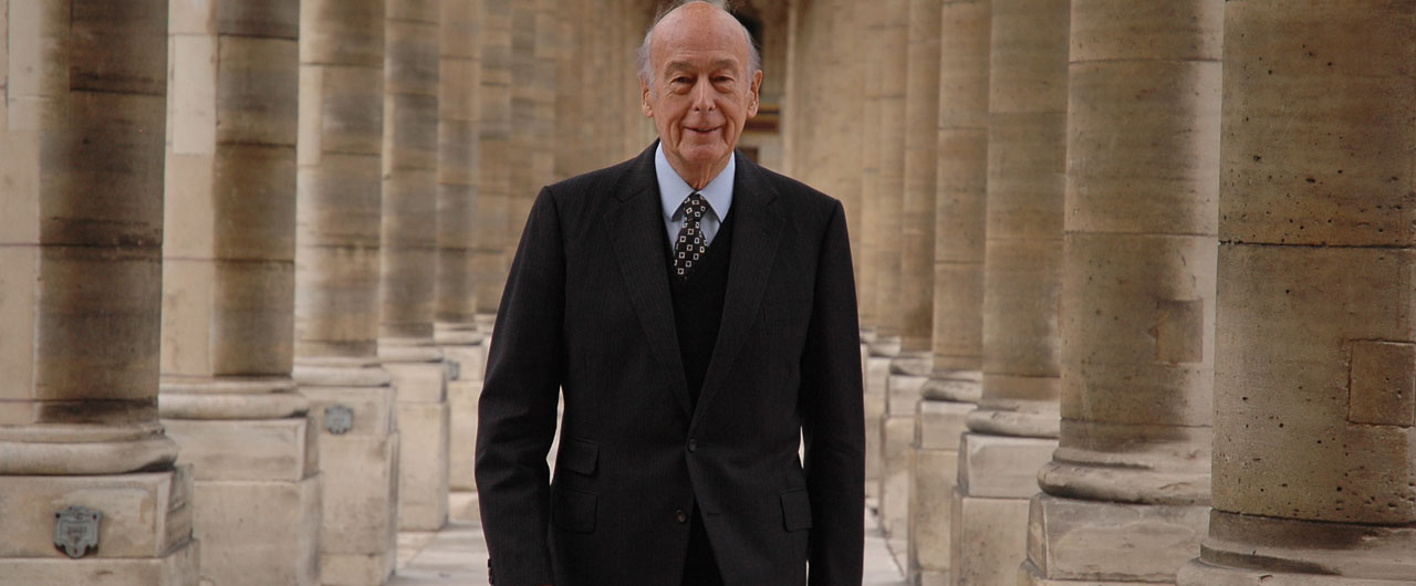 Hommage des Archives nationales à Valéry Giscard d'Estaing